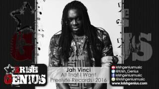 Jah Vinci - All That I Want