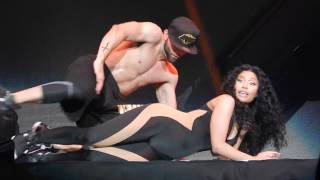 """Drake"" and Nicki Minaj Get Freaky On Stage"
