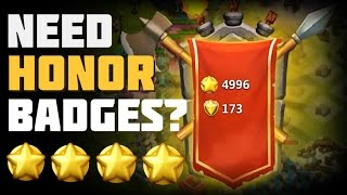 getlinkyoutube.com-Castle Clash: Need Honor Badges?