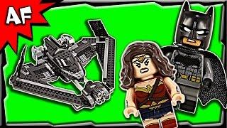 getlinkyoutube.com-Lego Batman V Superman Heroes of Justice: Sky High Battle 76046 Stop Motion Build Review