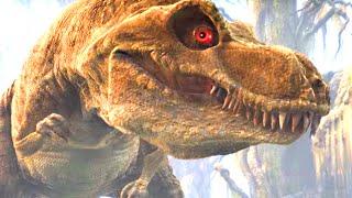 getlinkyoutube.com-Тиранозавр 10 яиц и маленькие динозавры. Про динозавров для детей