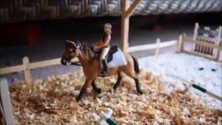 getlinkyoutube.com-Schleich barn tour January 2016 Silver Star Stables part 1