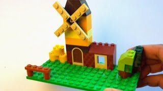 getlinkyoutube.com-How to build a Lego Windmill - Lego Classic 10696 (2015)