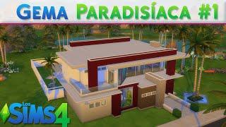 Download video mi casa construcci n los sims 4 for Casa moderna lyna
