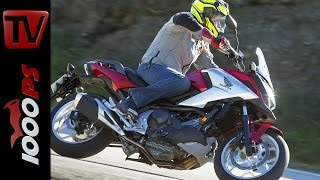 getlinkyoutube.com-Honda NC750X Test 2016   Fahrbericht, Action, Fazit, DCT