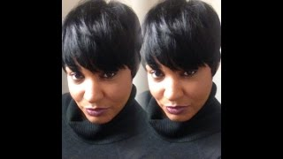getlinkyoutube.com-Fab Fringe Wig- Transformation! by Sensationnel
