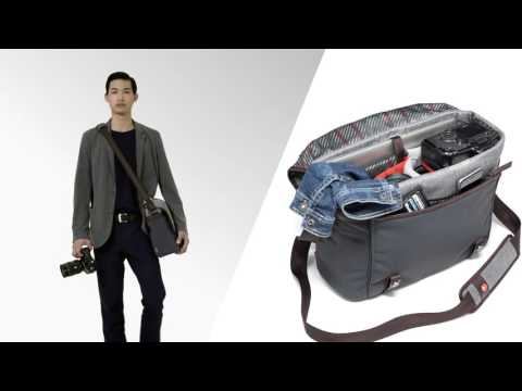 Manfrotto Windsor Messenger M - just the space you need