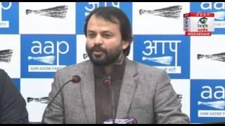 दिल्ली: पीएम मोदी द्वारा दिए गए भाषण पर आशीष खेतान ने उठाए सवाल