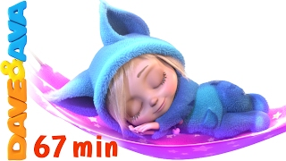 getlinkyoutube.com-💤 English Rhymes | Rock a Bye Baby | YouTube Nursery Rhymes and Baby Songs from Dave and Ava 💤