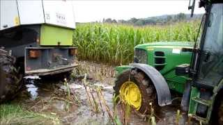 getlinkyoutube.com-Ensilage de Maïs - Extreme Conditions !!!