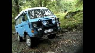 getlinkyoutube.com-Campervanculture.com VW Syncro  in Wales  Green Laneing.