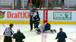 getlinkyoutube.com-Gotta See It: One play, three injuries in Sabres, Avalanche game