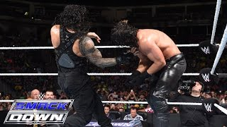 getlinkyoutube.com-Roman Reigns vs. Seth Rollins: SmackDown, July 2, 2015