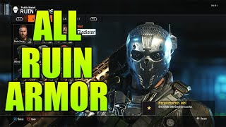 """getlinkyoutube.com-Black Ops 3 - ALL COMPLETED """"RUIN"""" GEAR SETS - (BO3 All Specialist Gear Sets Showcase #1)"""