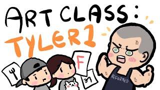 Lily's Art Class 6 ~ Tyler1 ft. Fed's mom :D