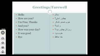 getlinkyoutube.com-Learn Afghan Persian (Farsi/Dari): Common Phrases P.1