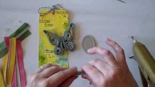 getlinkyoutube.com-Zipper Trim Butterfly Tutorial