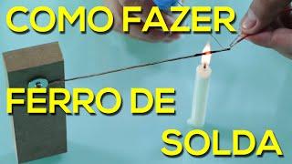 getlinkyoutube.com-Ferro de Solda Caseiro