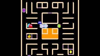 getlinkyoutube.com-Arcade Game: Pac 'N Pal/Pac-Man & Chomp Chomp (1983 Namco)