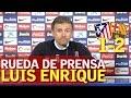 ATLÉTICO MADRID 1-2 BARCELONA | Luis Enrique en rueda de prensa