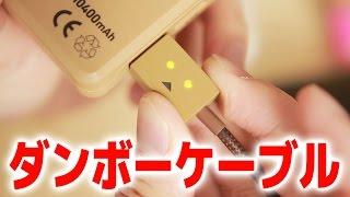 見た目のインパクトだけじゃない。質の高いケーブル。ダンボーケーブル DANBOARD USB Cable
