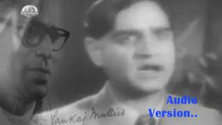 karun kya aas niras bhayi..Dushman 1939_K L Saigal_Aarzoo Lucknowi_Pankaj Mullick..a tribute