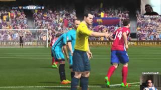 (FIFA 16) Leohimself vs. HesseLinK - Ep.2: Barcelona vs. Atlético Madrid