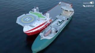getlinkyoutube.com-Reganosa's 10.000 m3-LNG supply vessel designed by GHENOVA