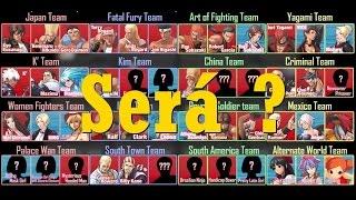 Todos os Personagens especulados de The King Of Fighters XIV