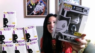 getlinkyoutube.com-Funko Pop Mystery Hottopic Exclusive black friday blind box unboxing 2015