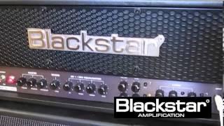 getlinkyoutube.com-Blackstar HT METAL 100 w/ EVH Frankenstein Replica and 2x12 Blackstar Cab AMAZING TONE!