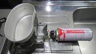 新富士バーナー(SOTO) 火力 テスト G-ストーブ STG-10