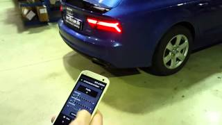 getlinkyoutube.com-Audi A7 4G Active Sound Gateway