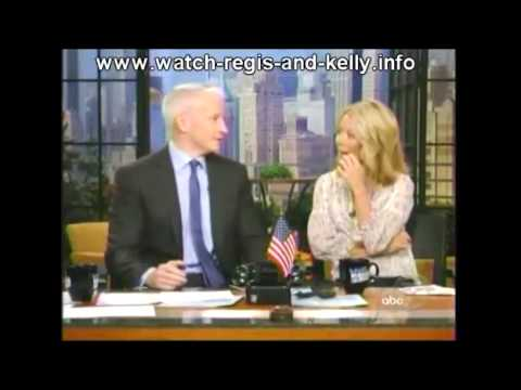 Regis and Kelly - 10/9/2009 part 1 - Padma Lakshimi, Anderson Cooper, Joss Stone