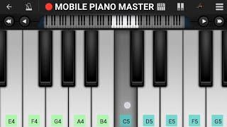 Dekha Hai pehli Baar Piano || Easy Piano|Piano Keyboard|Piano Lessons|Piano Music|learn piano Online