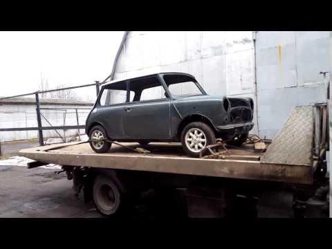 Мини приехал в кузовной ремонт