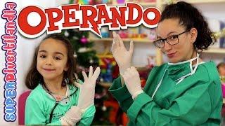 getlinkyoutube.com-Somos cirujanas!! Operando, juego de mesa en SUPERDivertilandia! Andrea y Raquel.