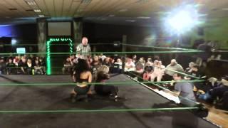 getlinkyoutube.com-Mandy Leon vs Samantha Starr  - Vicious Outcast Wrestling - January Jackpot