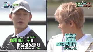 [ENG SUB] Travel The World On EXO's Ladder Behind Cut 8