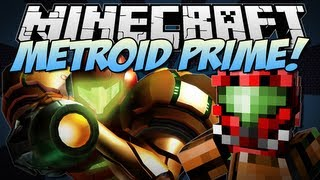 getlinkyoutube.com-Minecraft | METROID PRIME! (Power Suits, Insane Weapons & More!) | Mod Showcase