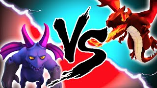 "getlinkyoutube.com-Clash of Clans - ""DRAGONS VS MINIONS!"" EPIC TROOP CHALLENGE! Who Will Win?"