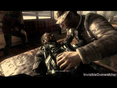 (SPOILER) Call of Duty: MW3 - SOAPS DEATH [HD 1080p]