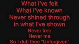 getlinkyoutube.com-Metallica The Unforgiven Lyrics