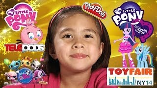 My Little Pony EQUESTRIA GIRLS Rainbow Rocks, PLAY DOH, Angry Birds STELLA - TOY FAIR 2014