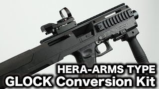 getlinkyoutube.com-HERA-ARMS TYPE GLOCK Conversion Kit 東京マルイG18C GBBコンバージョンキット