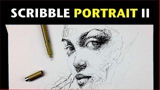 getlinkyoutube.com-Scribble Portrait II   I know you're watching