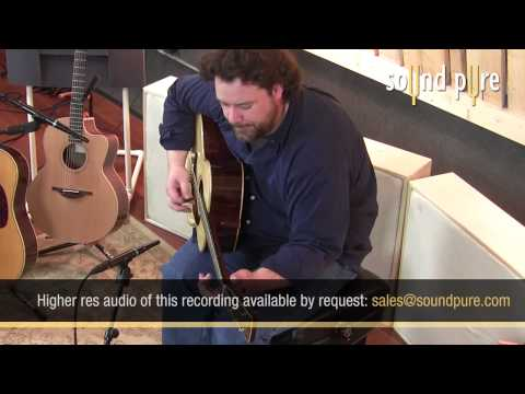 Goodall OM Brazilian Rosewood Acoustic Guitar Performance