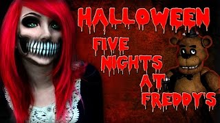 getlinkyoutube.com-Five Nights at Freddy's | HALLOWEEN - Los peluches atacan!!