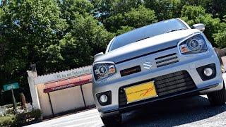 getlinkyoutube.com-S409TiC マフラーサウンド アルトワークス HA36S 2WD Ti-Cとの比較 ロッソモデロ