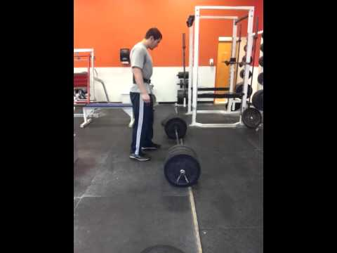 350 Power Clean to Overhead Press